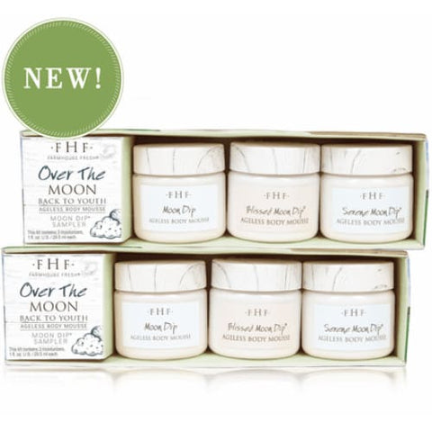 Over The Moon Back to Youth Body Mousse Sampler