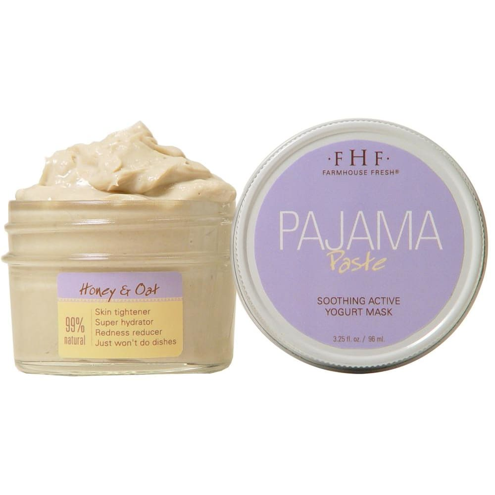 Pajama Paste Yogurt Oak And Honey Face Mask - Facial And Lip Care