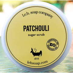 Patchouli Sugar Scrub - Sugar Scrubs