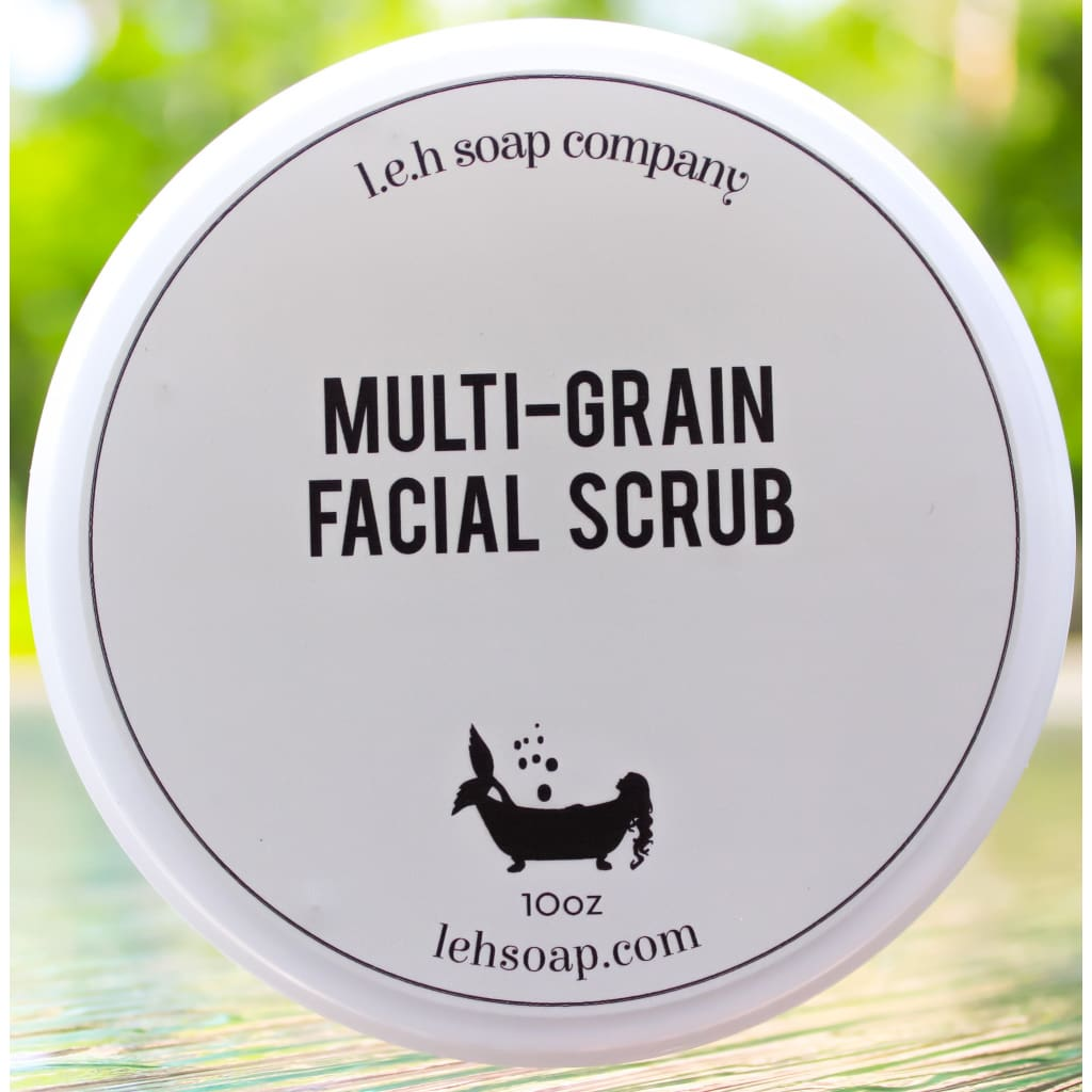 Scrub Your Face Multi-Grain Facial Scrub - Facial And Lip Care