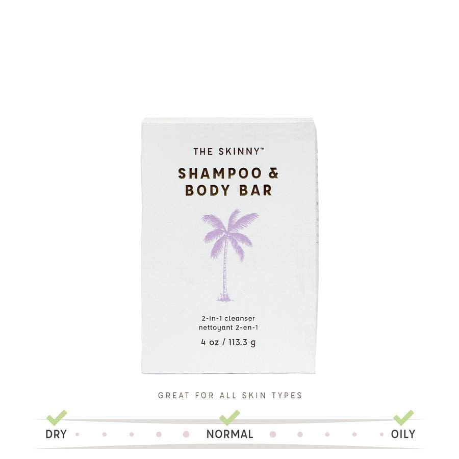 Skinny & Company Coconut Oil Shampoo Bars - Hair Care
