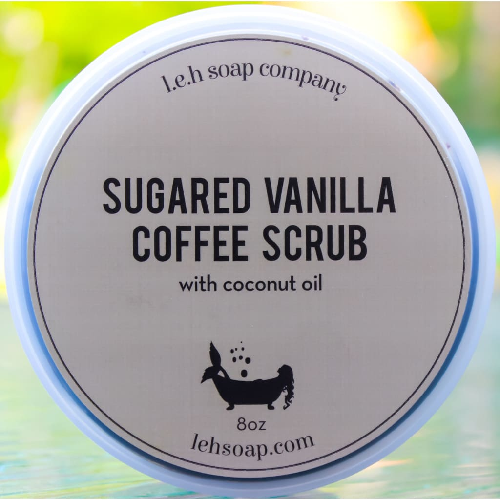 Sugared Vanilla Coffee Scrub - Sugar Scrubs