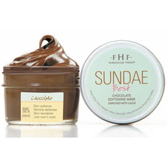 Sundae Best Chocolate Softening Mask With Coq10 - Facial And Lip Care
