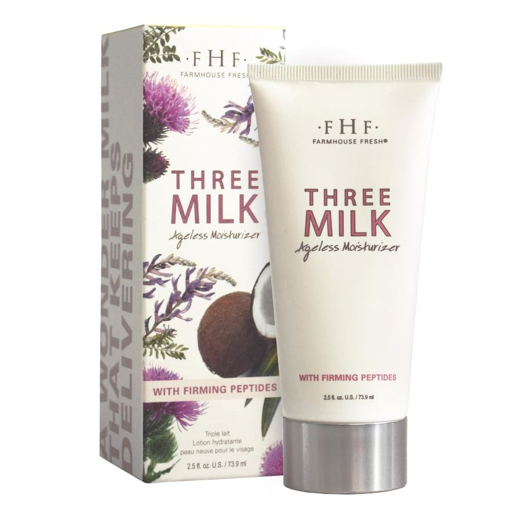 Three Milk Ageless Moisturizer - Facial And Lip Care