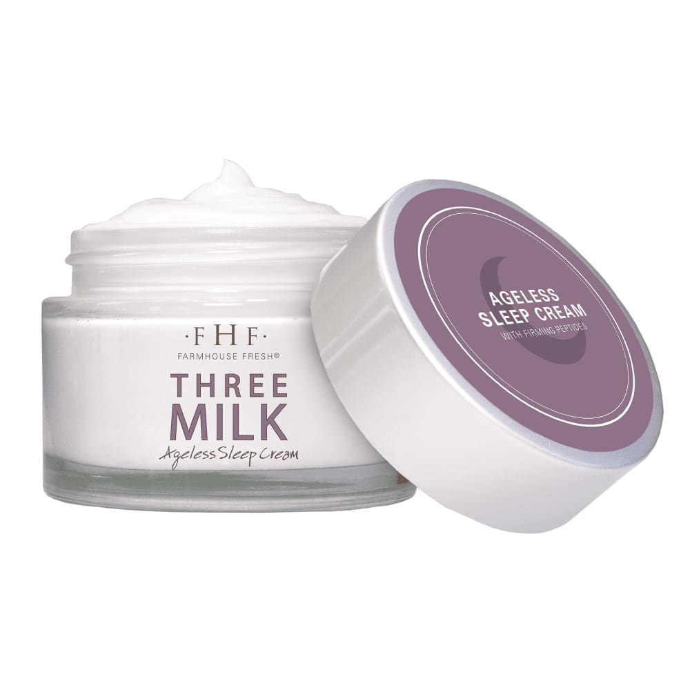 Three Milk Ageless Sleep Cream - Facial and Lip Care