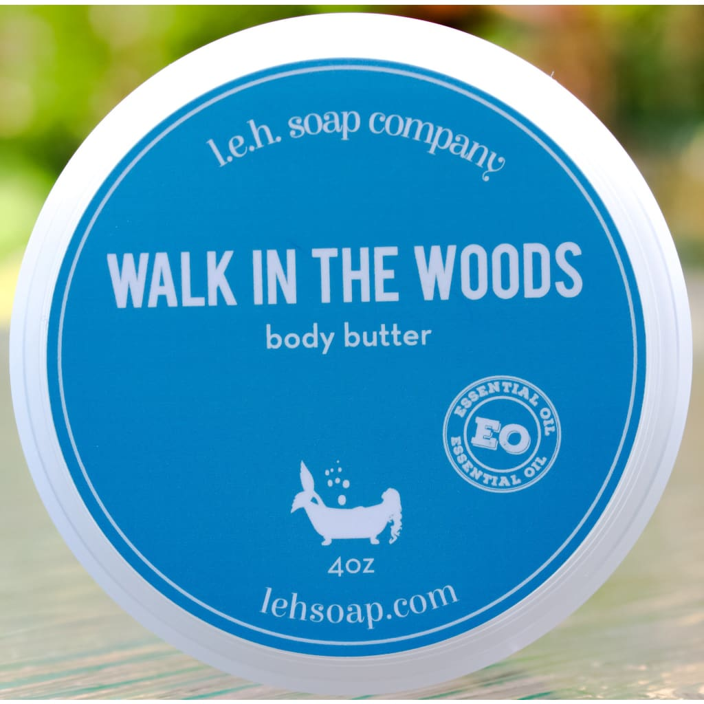 Walk In The Woods Body Butter - Body Butters And Moisturizers