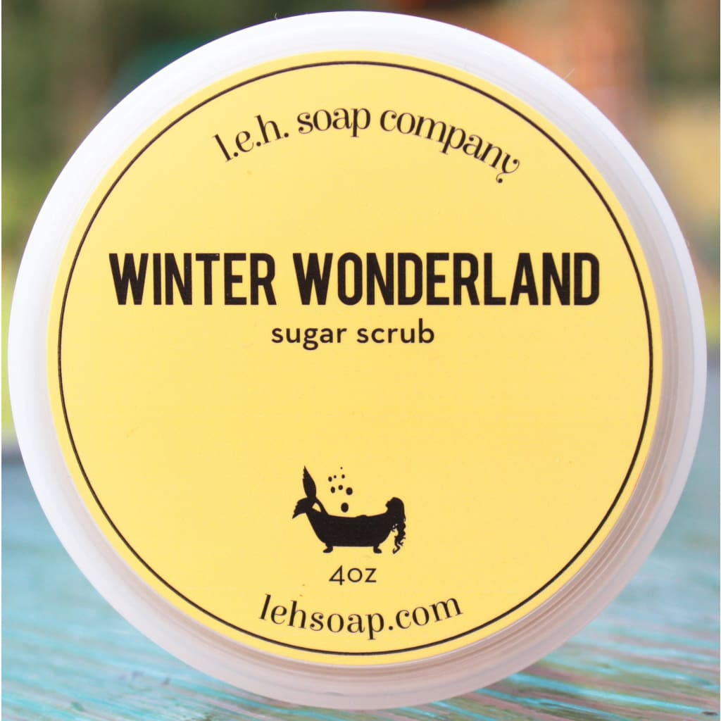 Winter Wonderland Sugar Scrub - Sugar Scrubs