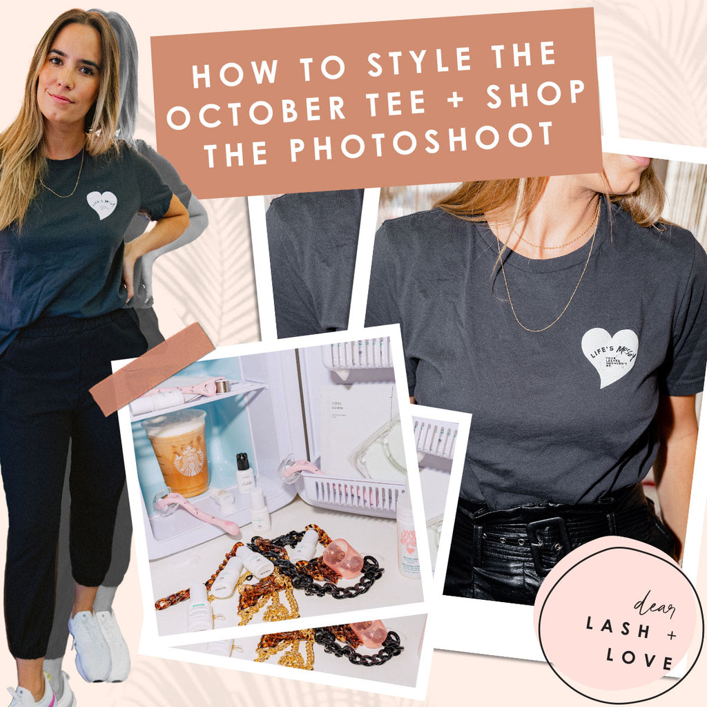 How to Style the October Tee + Shop the Photoshoot