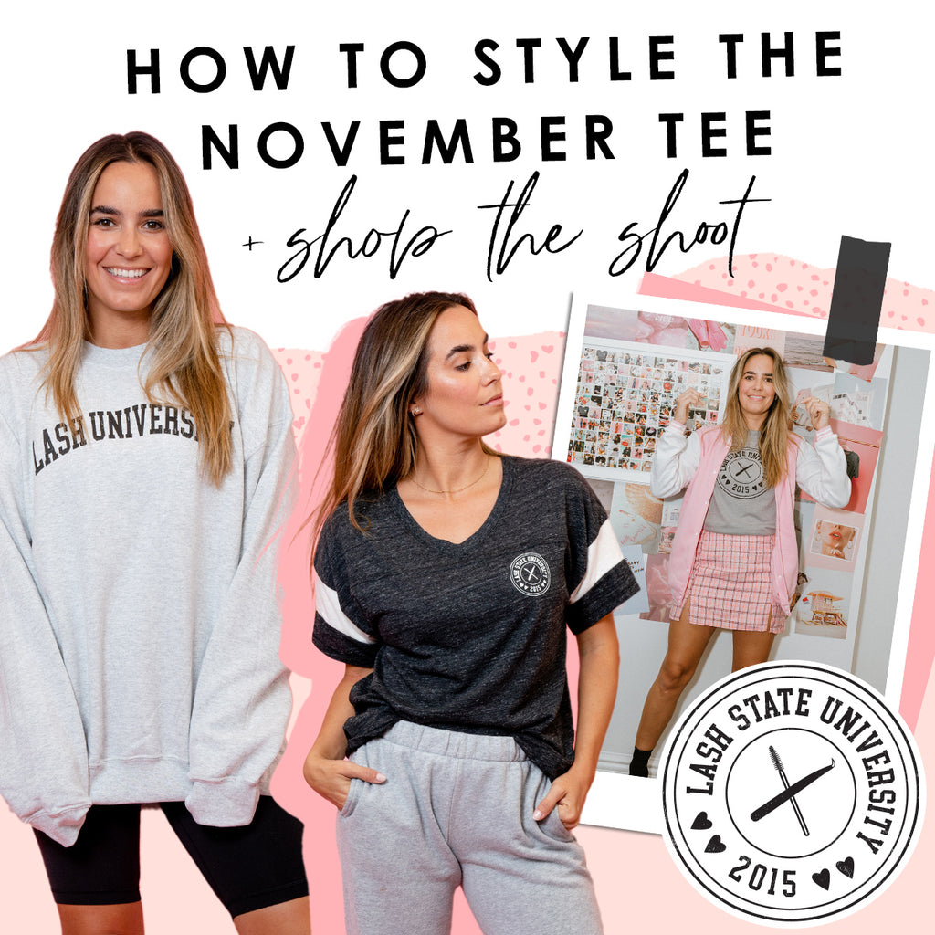 How to Style the November Tee + Shop the Shoot