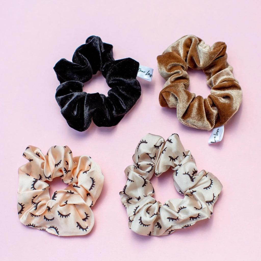 Lash Scrunchie Wholesale (24 sets)