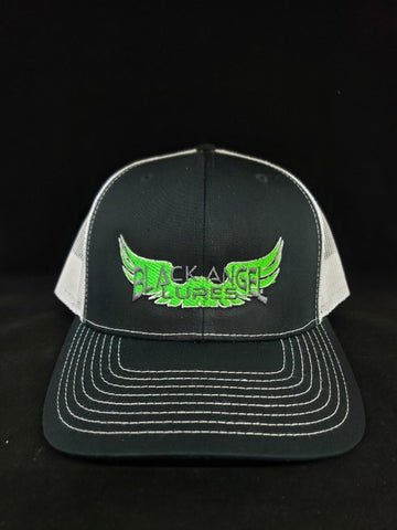 BLACK ANGEL LURES TRUCKER HAT