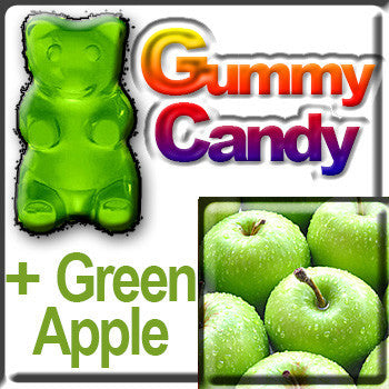 Gummy Candy & Green Apple
