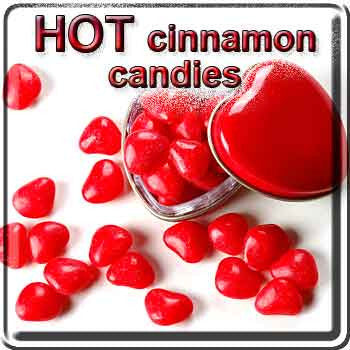 Hot Cinnamon Candies - The Vapor Girl - eliquid / e juice