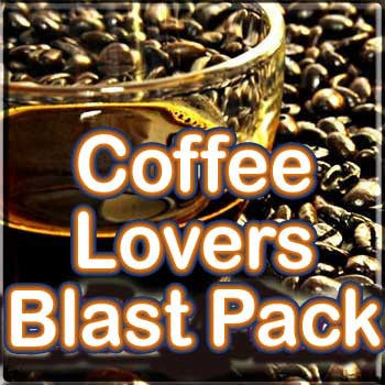 Coffee Lovers Blast Pack - The Vapor Girl - eliquid / e juice