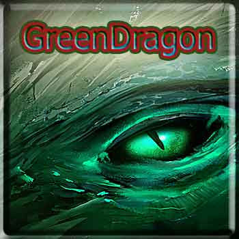 Green Dragon - The Vapor Girl - eliquid / e juice