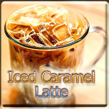 Iced Caramel Latte - The Vapor Girl - eliquid / e juice