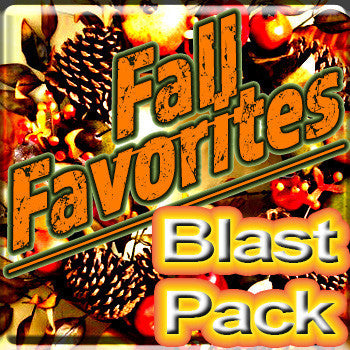 Fall Favorite Blast Pack - The Vapor Girl - eliquid / e juice