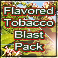 Flavored Tobacco Blast Pack - The Vapor Girl - eliquid / e juice
