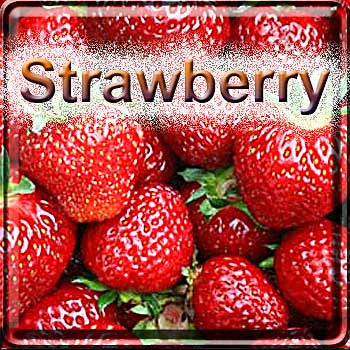 Strawberry - The Vapor Girl - eliquid / e juice