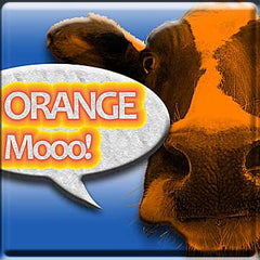 Orange Mooo - The Vapor Girl - eliquid / e juice
