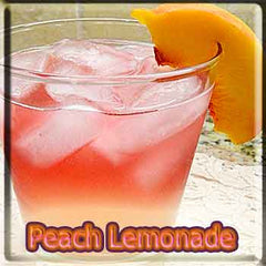Peach Lemonade - The Vapor Girl - eliquid / e juice
