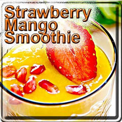 Strawberry Mango Smoothie - The Vapor Girl - eliquid / e juice