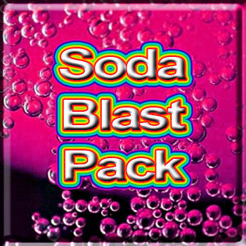 Soda Blast Pack - The Vapor Girl - eliquid / e juice