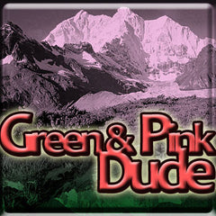 Green & Pink Dude - The Vapor Girl - eliquid / e juice