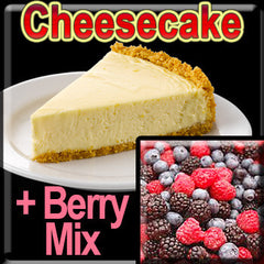 Cheesecake & Berry Mix - The Vapor Girl - eliquid / e juice