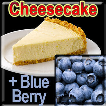 Cheesecake & BlueBerry - The Vapor Girl - eliquid / e juice