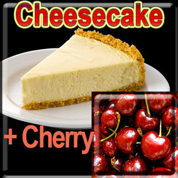 Cheesecake & Cherry - The Vapor Girl - eliquid / e juice