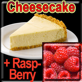 Cheesecake & RaspBerry - The Vapor Girl - eliquid / e juice