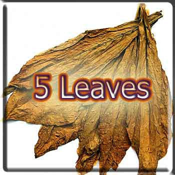 5 Leaves Tobacco: 0 Nicotine, 30 ml Uber Premium E Liquid, The Vapor Girl Inc. - The Vapor Girl - eliquid / e juice