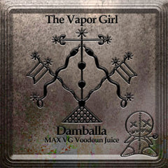 Damballa - MAX VG Vooduon Juice - The Vapor Girl - eliquid / e juice