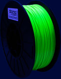 Neon Green UV Reactive PLA Filament