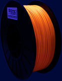 Neon Orange UV Reactive PLA Filament