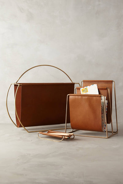 Saddle Ring Desk Collection - Magazine Rack