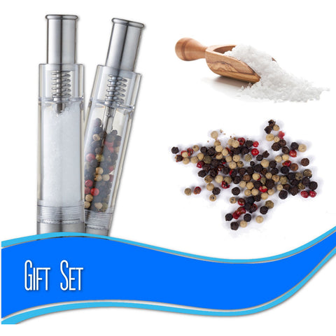 salt and peppermill gift set peppermate image