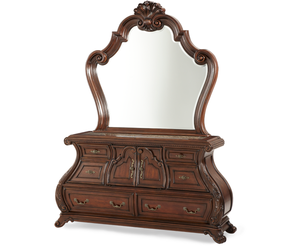 AICO - Michael Amini - Palace Gates Dresser & Mirror (2pc)