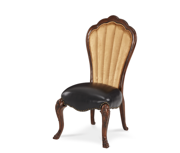 AICO - Michael Amini - Palace Gates Side Chair - Leather