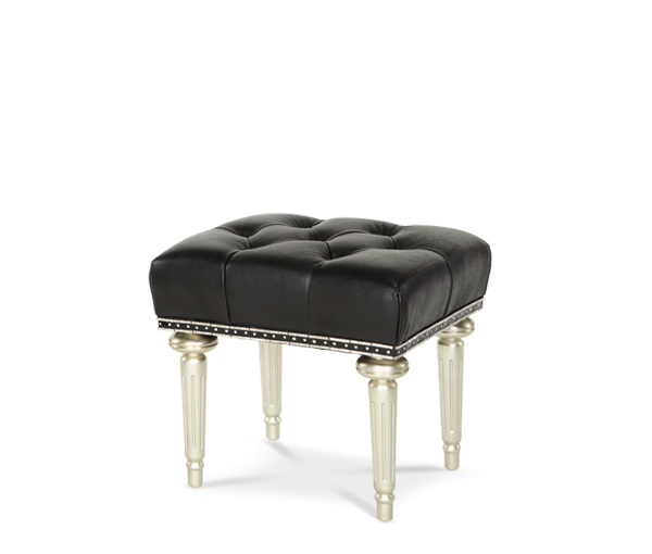 AICO - Michael Amini - Hollywood Swank Starry Night Vanity Bench