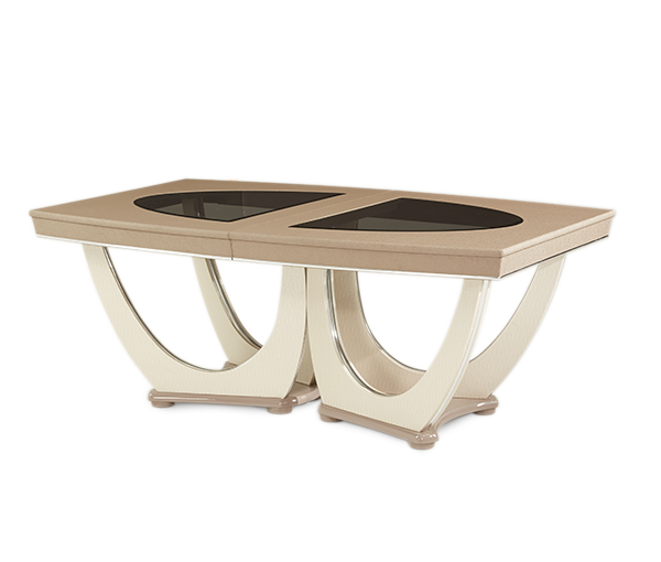 AICO - Michael Amini - Overture Rectangular Dining Table (2 pc)