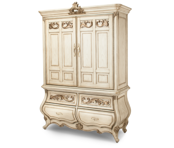AICO - Michael Amini - Platine de Royale 2 Door Chest (2 pc)