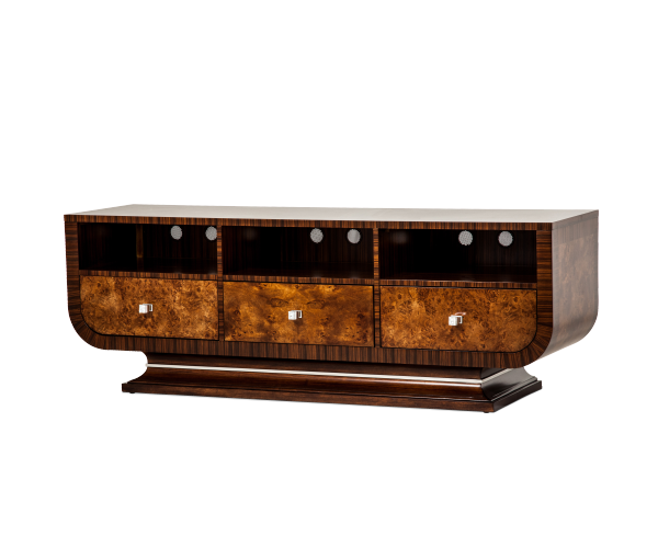 AICO - Michael Amini -Cloche TV Stand Bourbon