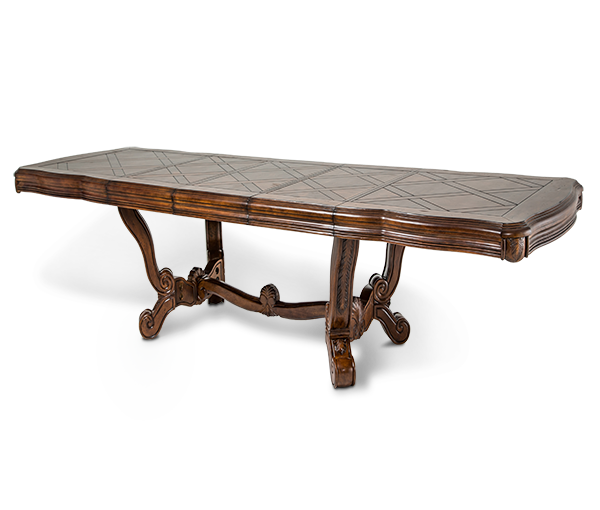 AICO - Michael Amini - Tuscano Rectangular Dining Table (2 pc)