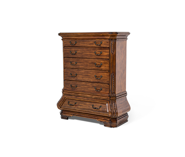 AICO - Michael Amini - Tuscano 6 Drawer Chest Melange