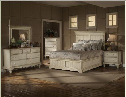 Hillsdale - Wilshire 4pc King Panel Bedroom Suite