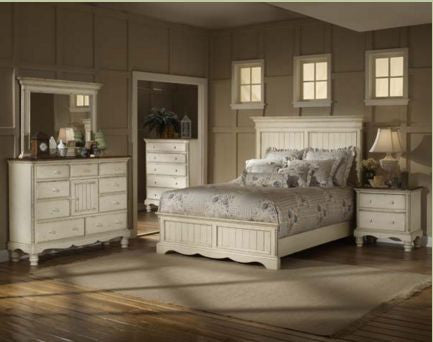 Hillsdale - Wilshire 4pc Queen Panel Bedroom Suite