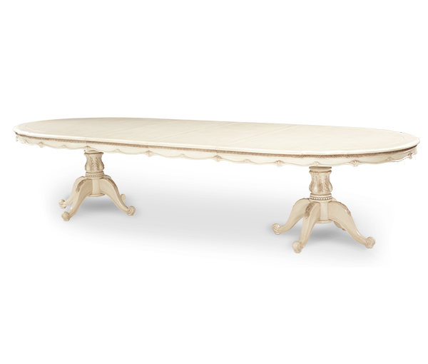 AICO - Michael Amini - Lavelle Palatial Oval Dining Table (2 pc)