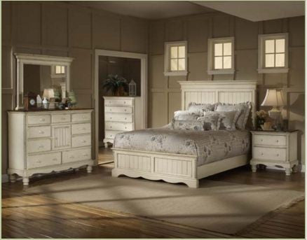 Hillsdale - Wilshire 5pc King Panel Storage Bedroom Suite